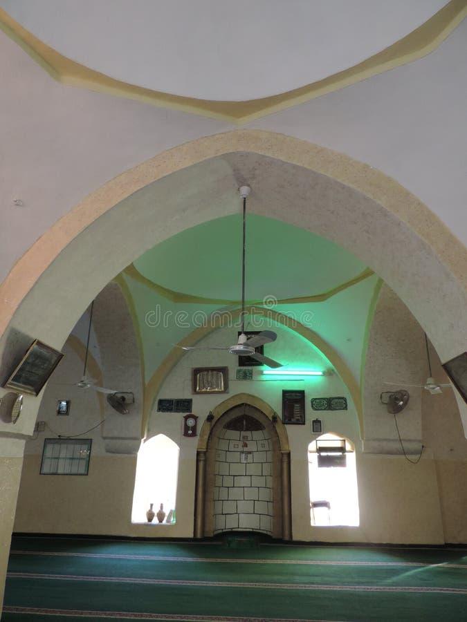 Nabi Moosa-Moschee und -grab nahe Jerusalem stockfotografie