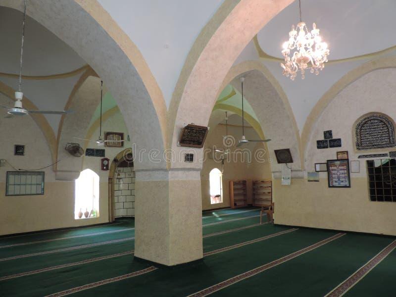 Nabi Moosa-Moschee und -grab nahe Jerusalem lizenzfreie stockfotos