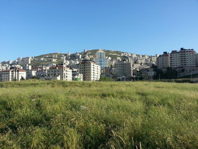 Nablus lizenzfreies stockbild