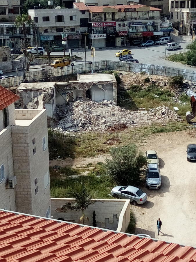 Nablus Rafeedia arkivfoto