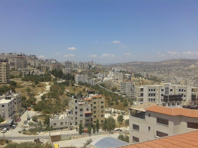 Nablus rafeedia Palestina arkivbilder