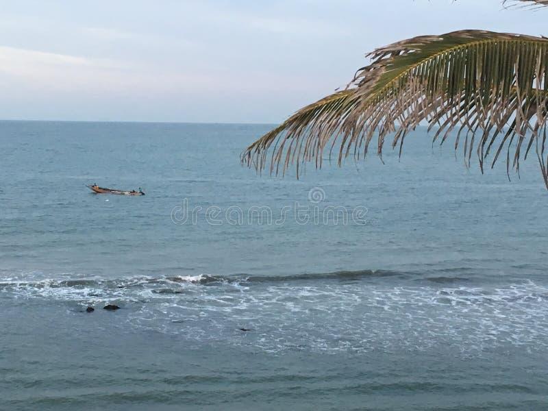 Nabrzeże Gambia, Afryka obrazy stock