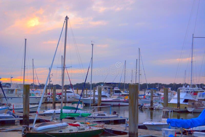 Nabrzeże przy Beaufort zdjęcie royalty free