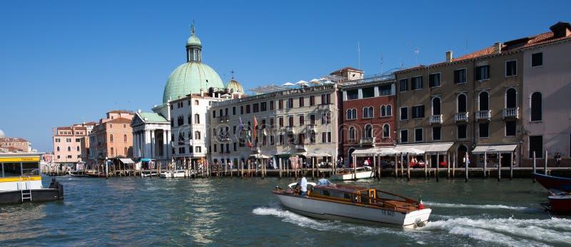 Nabrzeże Venice fotografia royalty free