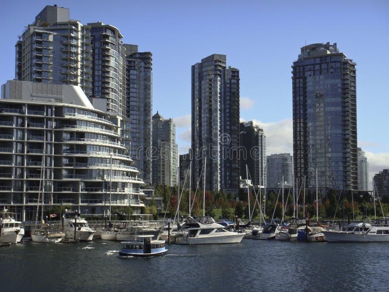 Nabrzeże w Vancouver fotografia stock