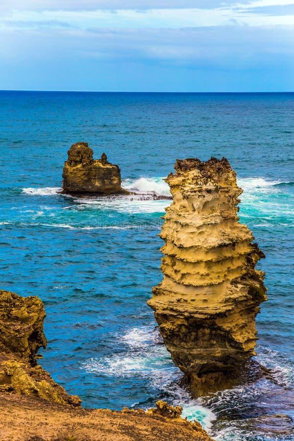 Nabrzeżne małe wyspy zdjęcia royalty free