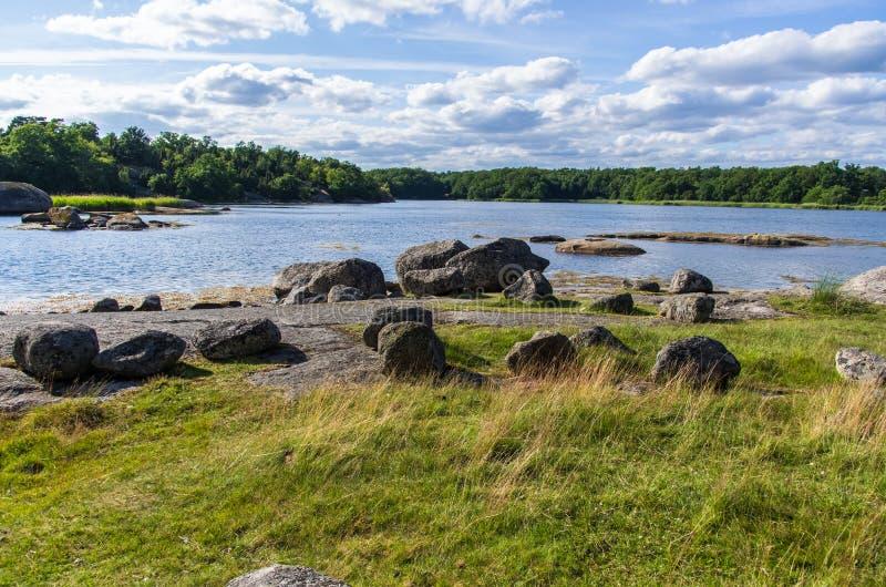 Nabrzeżny krajobraz obrazy royalty free