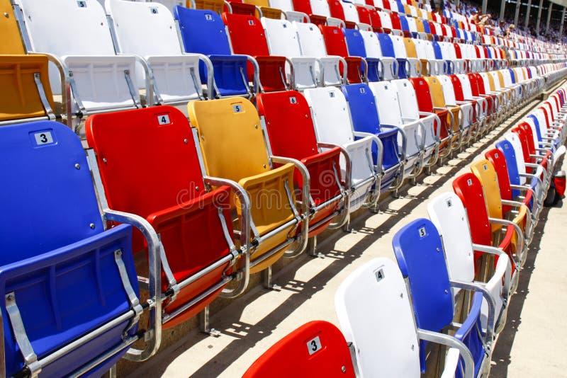 NACAR - assentos coloridos! foto de stock