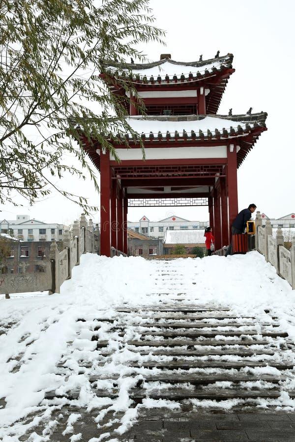 Nach dem Schnee lizenzfreies stockfoto