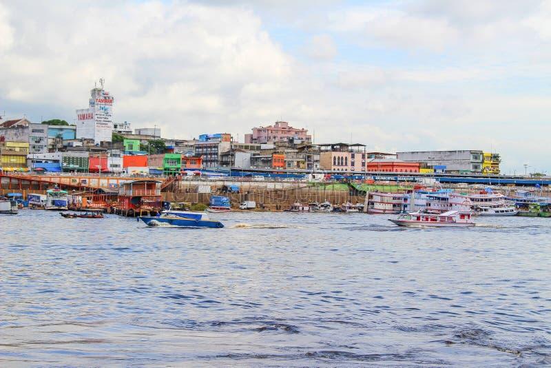Nachbarschaft in Manaus, Amazona, Brasilien stockfotografie