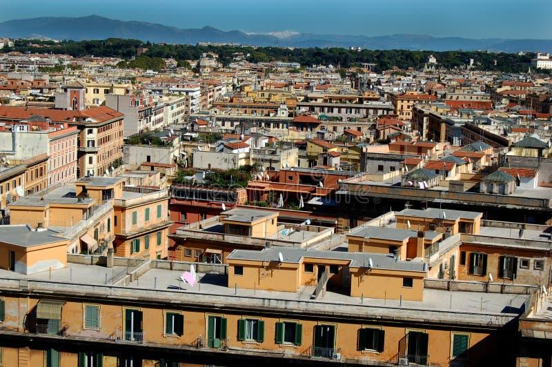 Nachbarschaft in Rom stockbilder