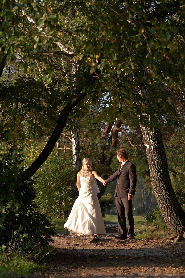 Nachdem wedding stockfotos