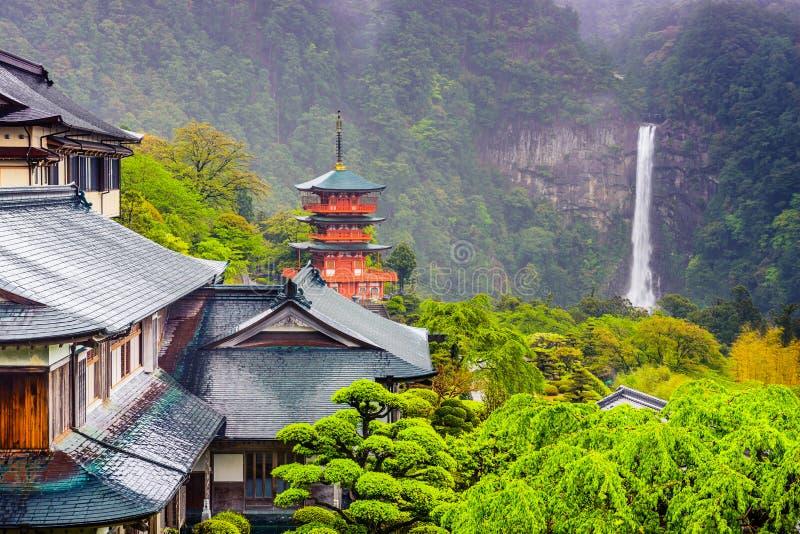 Nachi Japan royaltyfri fotografi