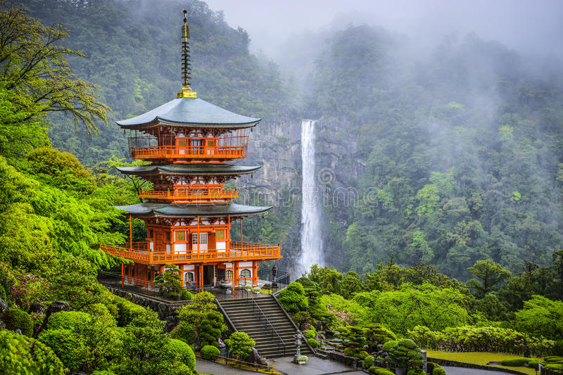 Nachi, Japonia obrazy stock