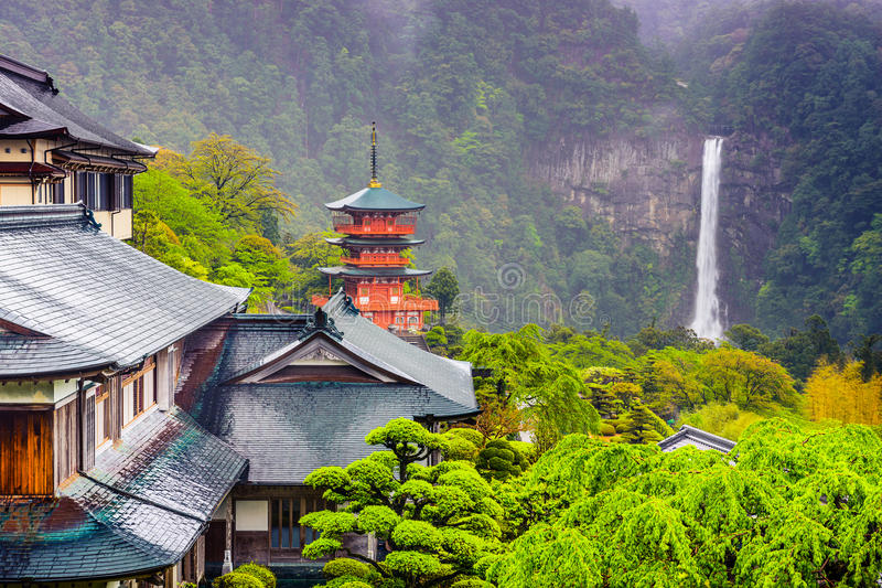 Nachi, Japonia fotografia royalty free