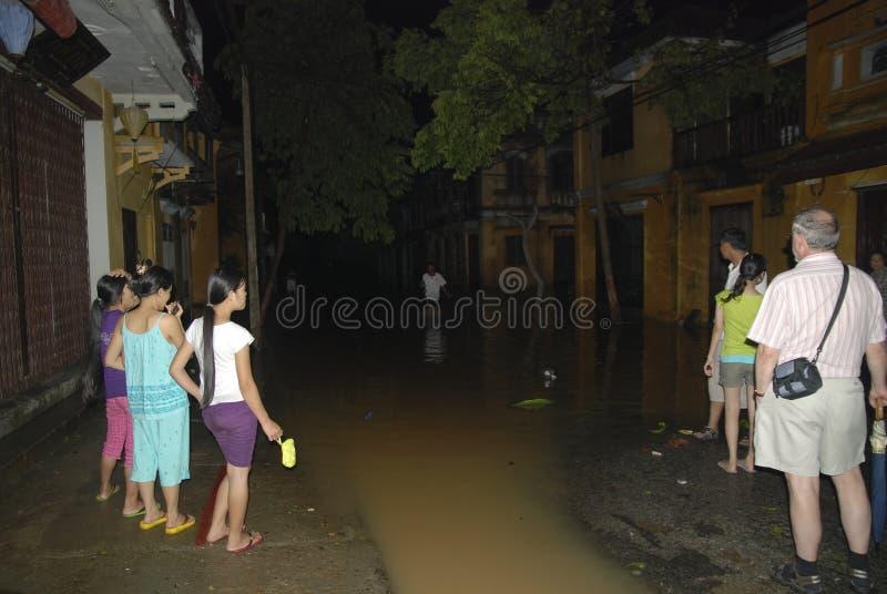 Nachmahd Ketsana Hoi ein Vietnam stockbild