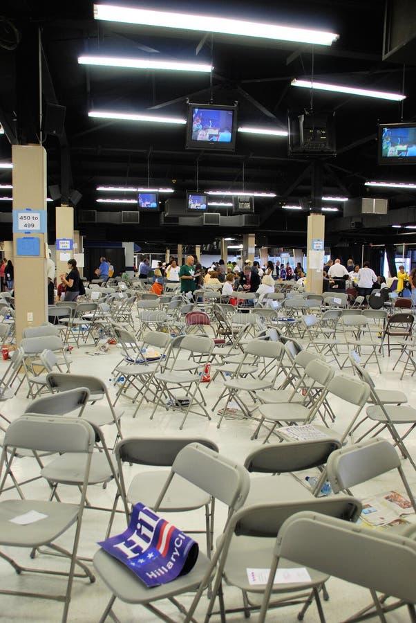 Nachmahd von Democratic Conven stockfoto
