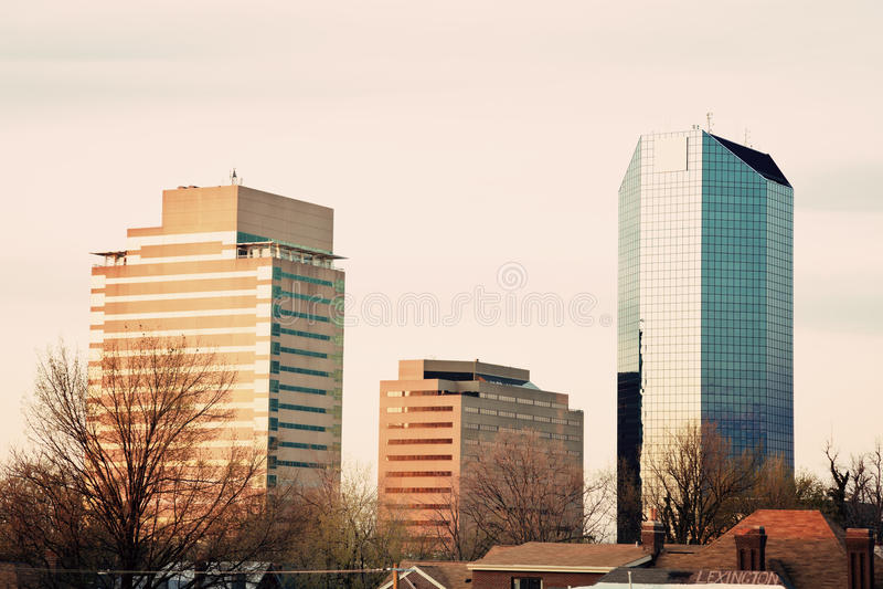Nachmittag in Lexington stockfotografie