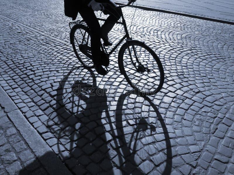 Nachmittagsradfahren stockfotografie