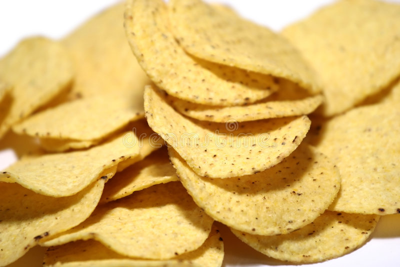 Nacho Chips stock image