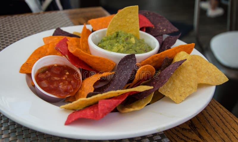 nachos высшие стоковое фото