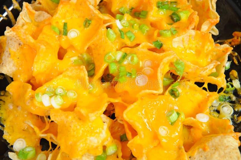 nachos royaltyfri bild