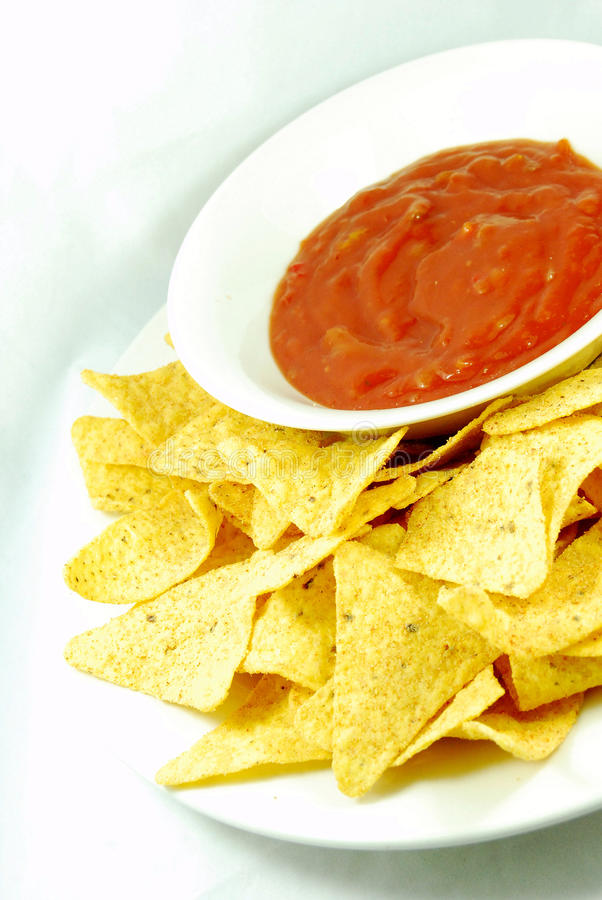 nachos стоковое фото