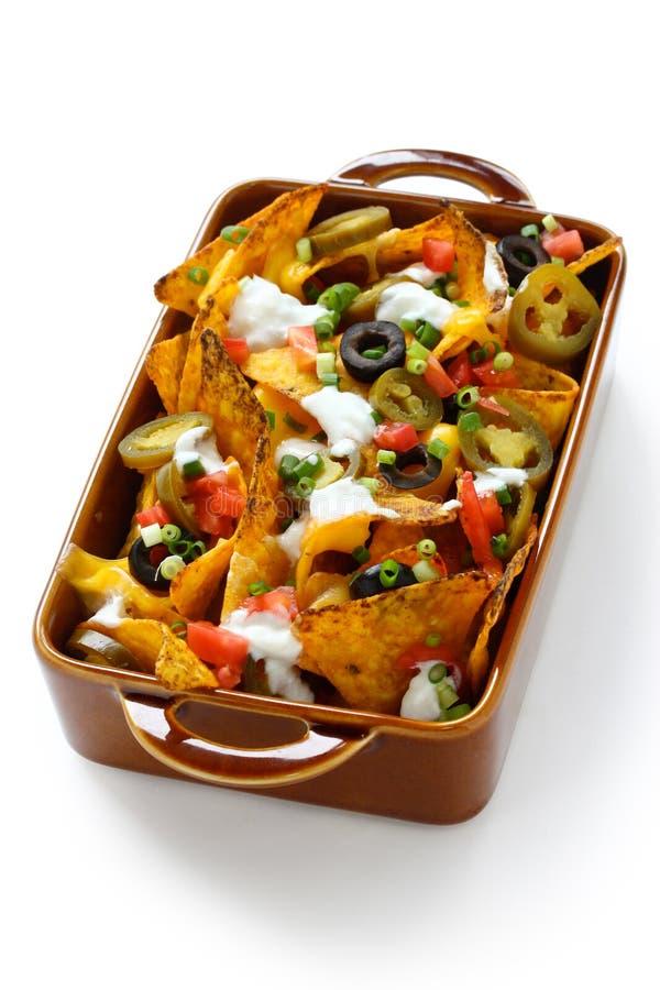 nachos royaltyfri fotografi