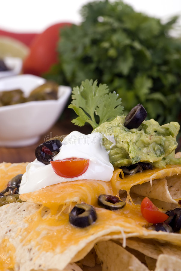Download Nachos stock image. Image of salty, peppers, sour, munchies - 3010611