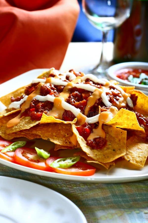 nachos стоковое изображение rf