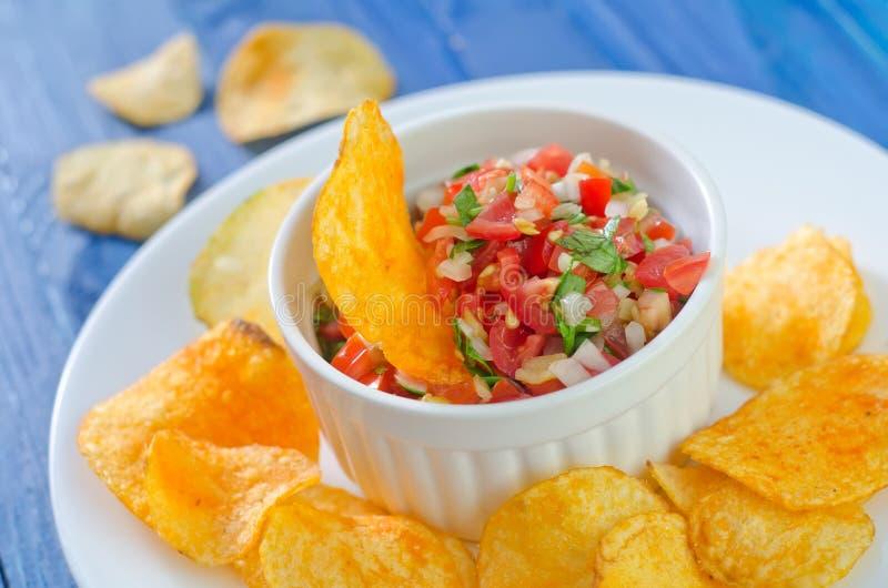 Download Nachos стоковое фото. изображение насчитывающей еда, изображение - 41660004