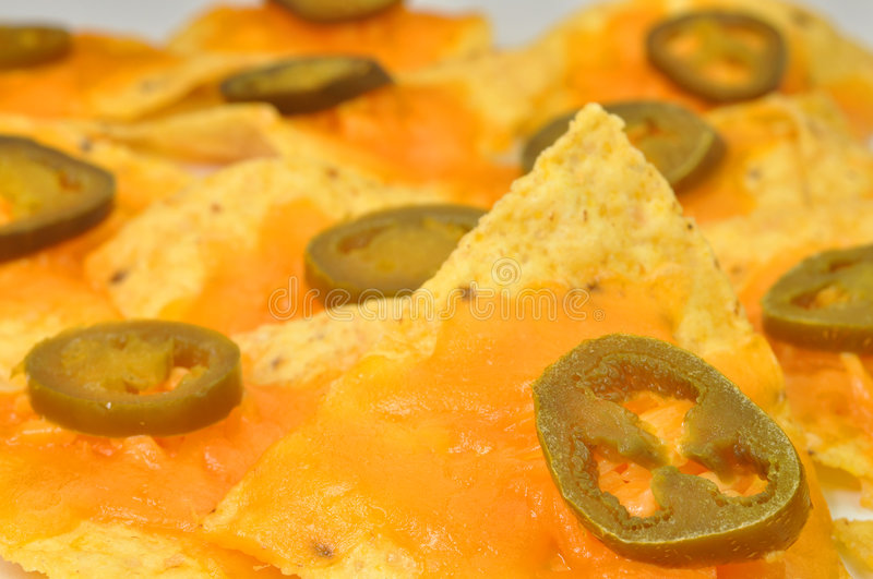 Download Nachos stock image. Image of junk, mexican, spicy, melted - 6878723