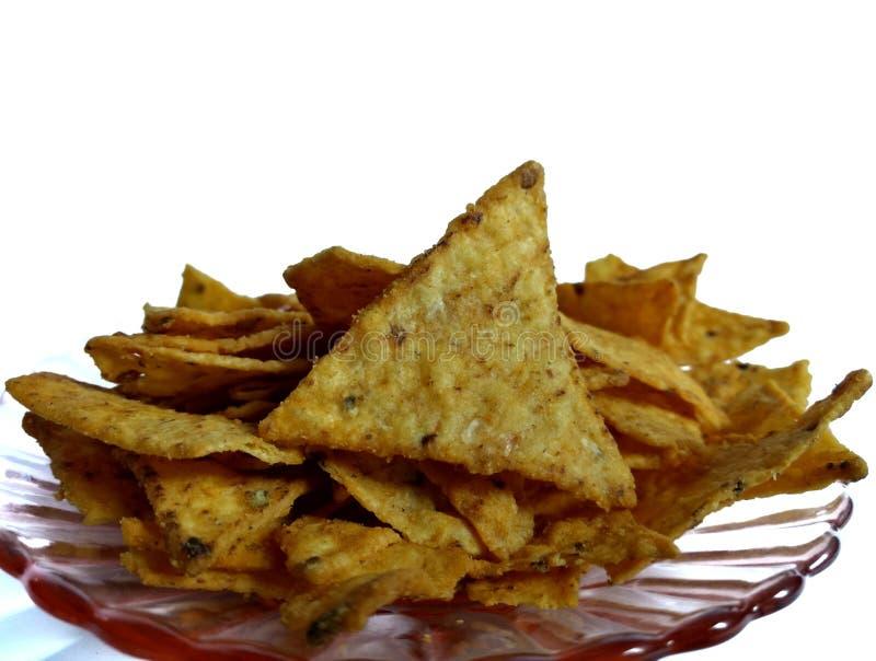 Nachos med vit ost typiska mexikanska livsmedel arkivfoton