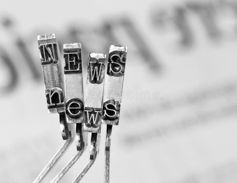 Nachrichten lizenzfreies stockfoto
