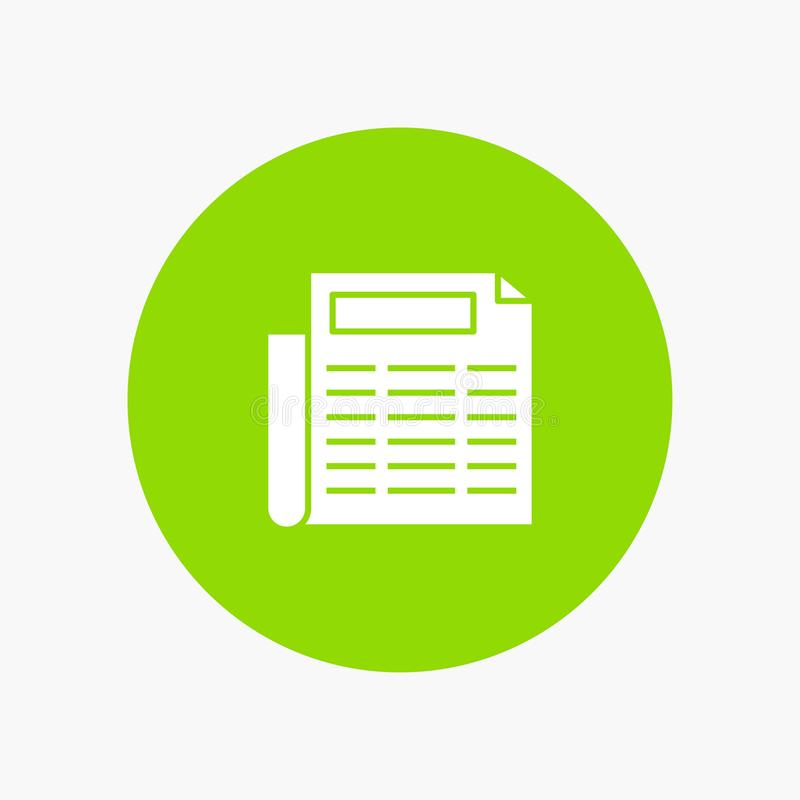 Nachrichten, Papier, Dokument stock abbildung
