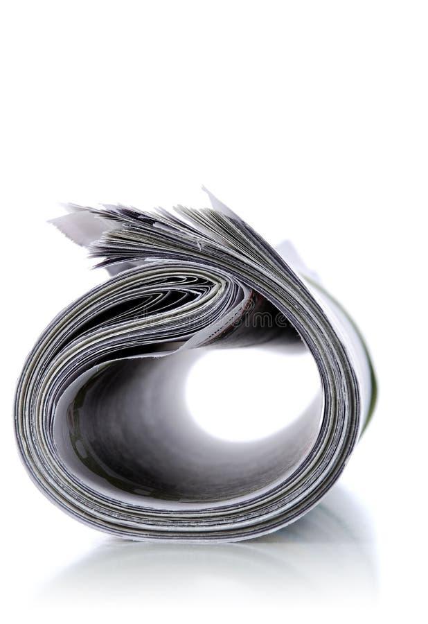 Nachrichtenpapier stockfotografie