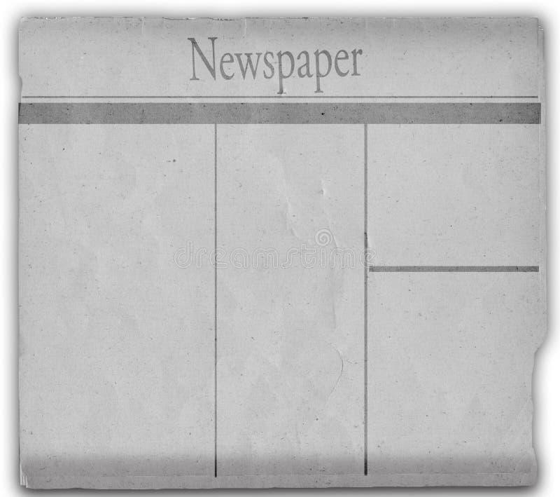 Nachrichtenpapier lizenzfreie abbildung