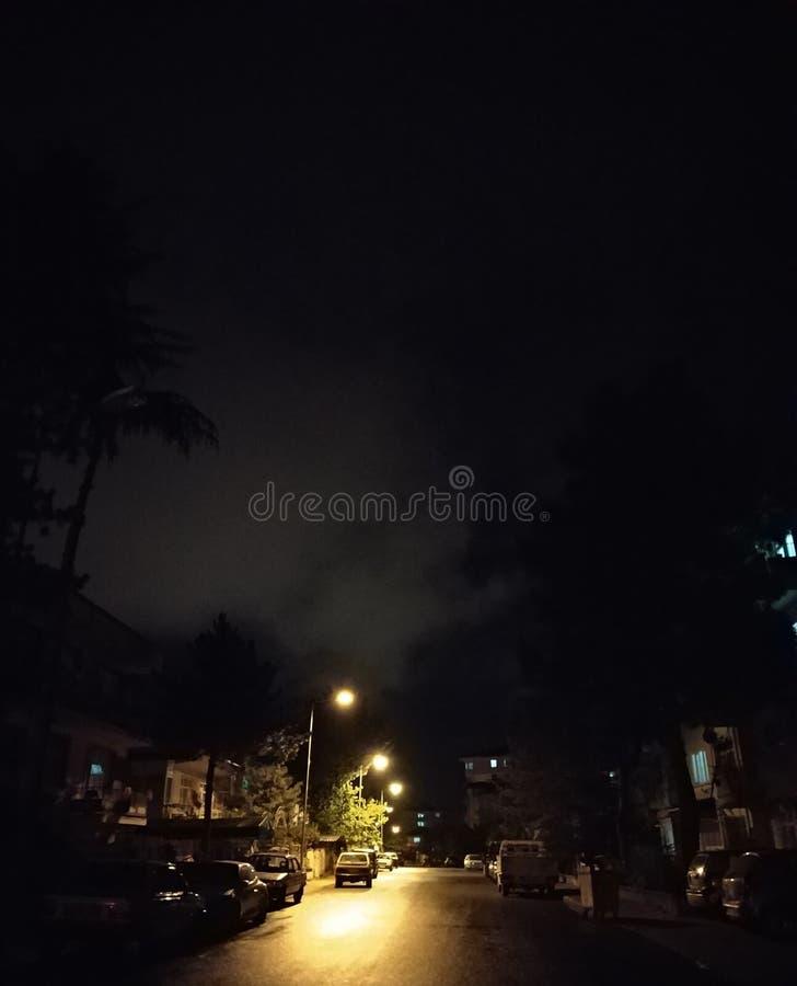 nacht lizenzfreie stockfotos