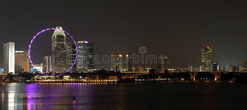 NACHT 7 VAN SINGAPORE royalty-vrije stock foto's