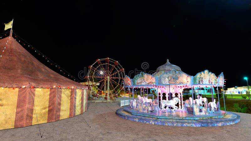 Nacht Carnaval stock afbeeldingen
