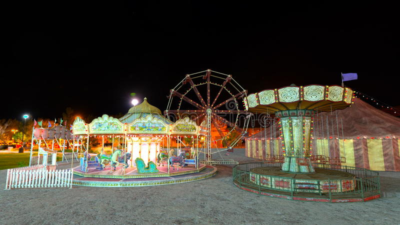 Nacht Carnaval royalty-vrije stock foto