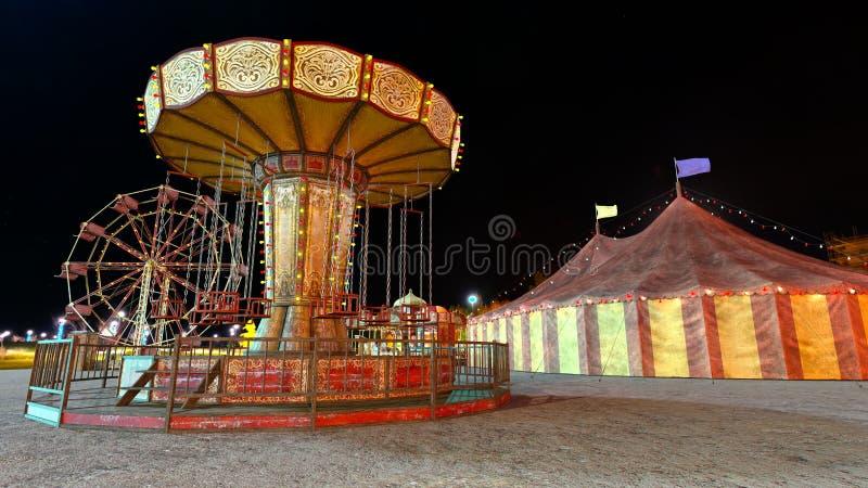 Nacht Carnaval royalty-vrije stock fotografie