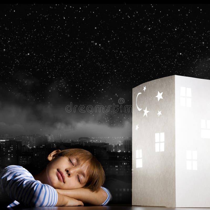 Nacht het dromen royalty-vrije stock fotografie