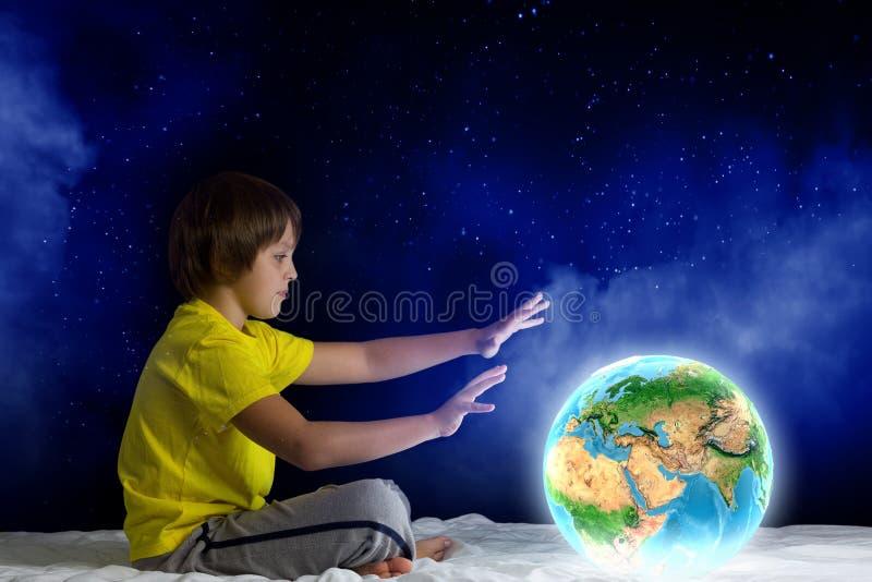 Nacht het dromen royalty-vrije illustratie