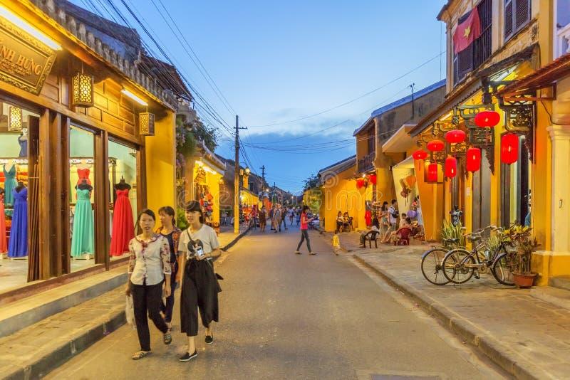 Nacht, Hoi An, Vietnam stockfoto