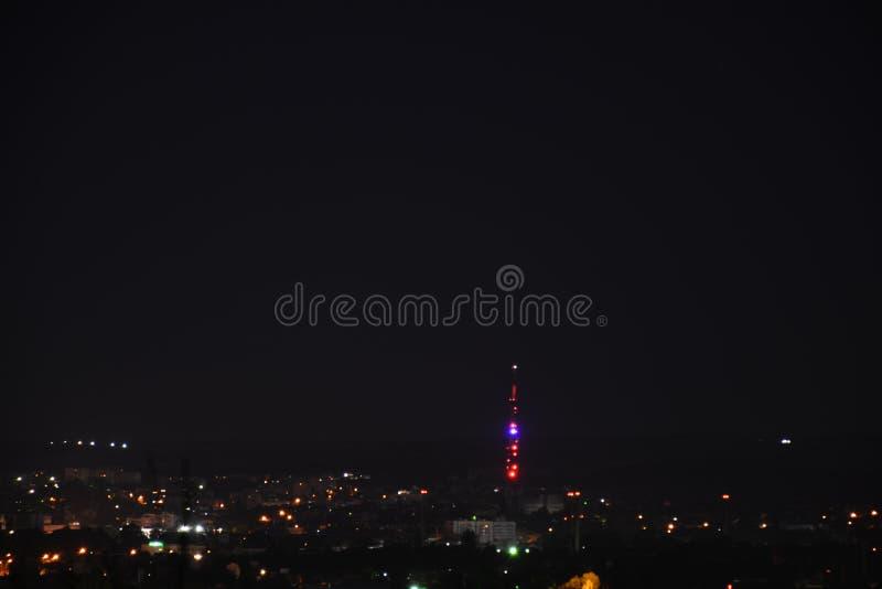 Nacht Simferopol 004 lizenzfreies stockfoto