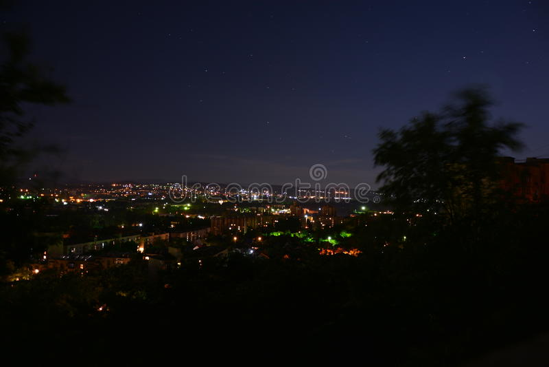 Nacht Simferopol 006 stockfotos