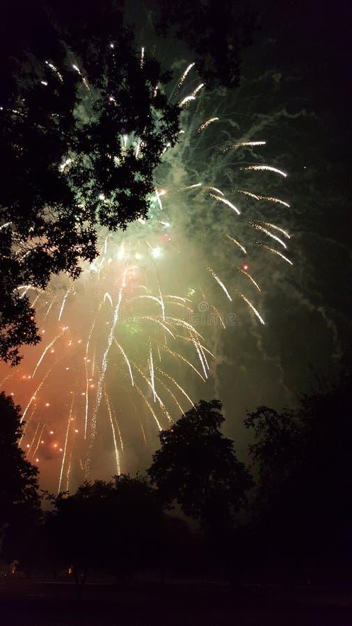 Nacht van Vrijheid royalty-vrije stock afbeeldingen
