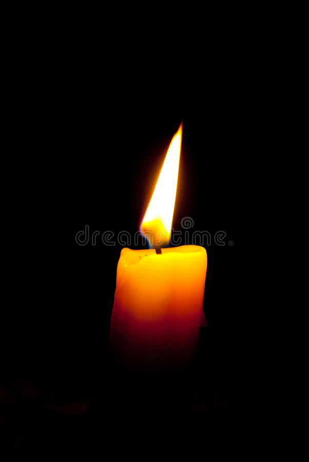 Nacht zonder elektriciteit stock foto's