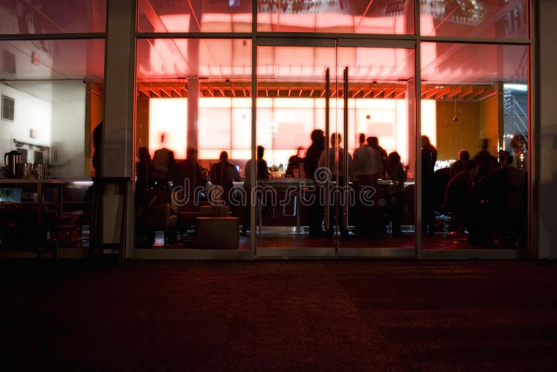 Nachtclub royalty-vrije stock afbeelding